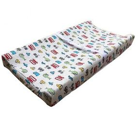Portable Wedge Changing Mat , Washable Baby Touch Cover Change Table Mat